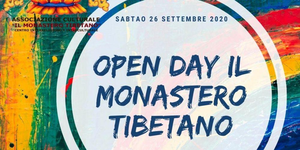 OPEN DAY del MONASTERO TIBETANO di Cisterna di Latina.