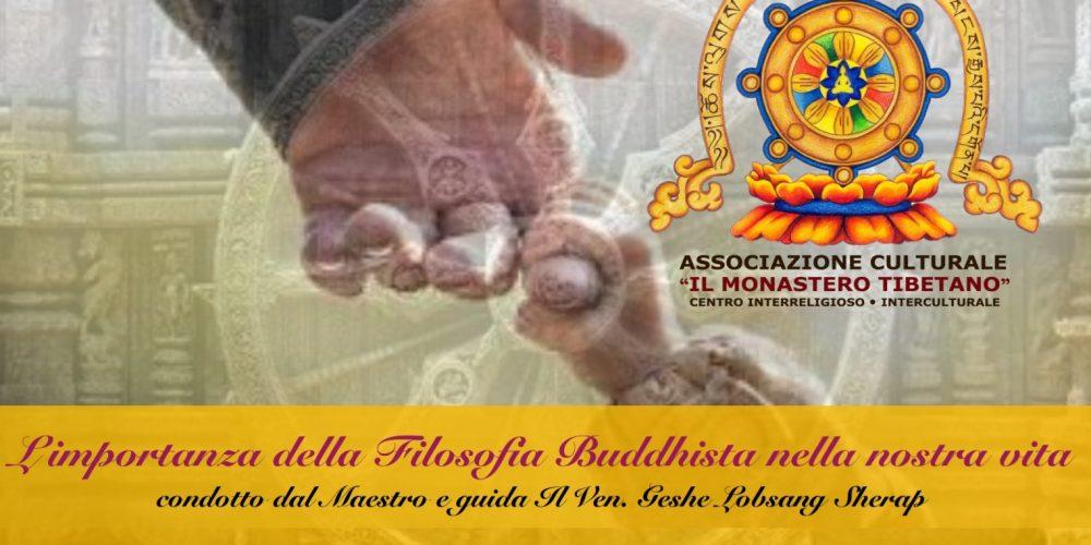 Corso Basic Dharma Teacher: Corso Base di Filosofia Buddhista (Praticanti Avanzati e Senior)