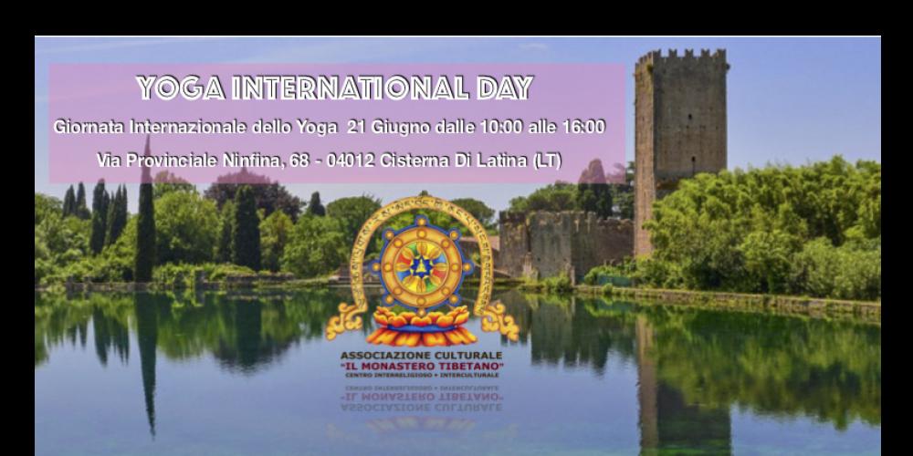INTERNATIONAL YOGA DAY – Giornata Internazionale dello Yoga