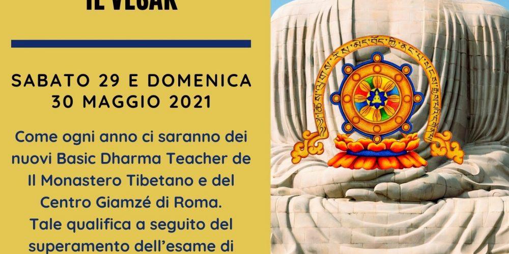 VESAK Il Monastero Tibetano e Centro Giamzé di Roma