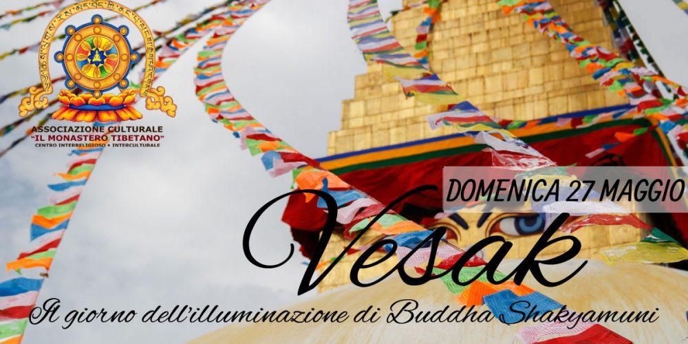 """""""VESAK"""" Il giorno dell'illuminazione di Buddha Shakyamuni"""