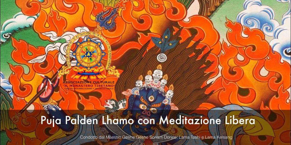 Puja Palden Lhamo con Meditazione libera