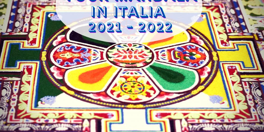 Mandala Tour in Italia 2021 – 2022 Per la PACE chiede il vostro aiuto