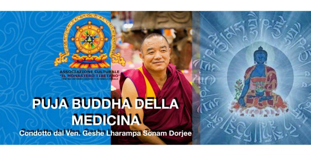 Puja Buddha Della Medicina condotto dal Ven. Geshe Lharampa Sonam Dorje