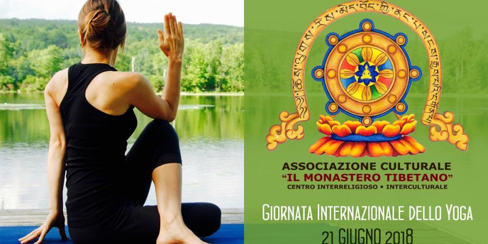 Giornata Internazionale dello Yoga al Monastero Tibetano