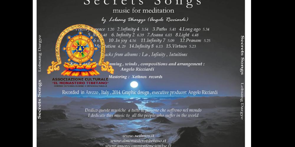 """Apericena con Presentazione progetto: """"Secret Song"""" creato dal Musicista, Angelo Ricciardi"""