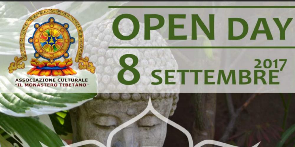OPEN DAY – 08 SETTEMBRE 2017 – DALLE ORE 18:30 FINO ALLE ORE 22:00