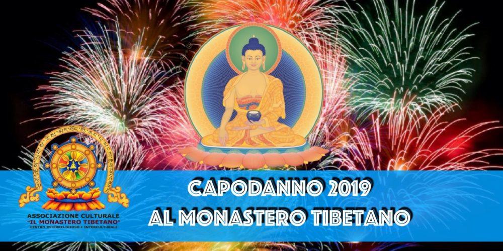 CAPODANNO 2019 al Monastero Tibetano guidato dal Maestro guida Geshe Lobsang Sherap