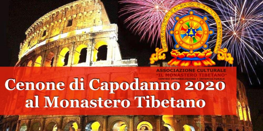 Cenone di capodanno 2020 al Monastero Tibetano