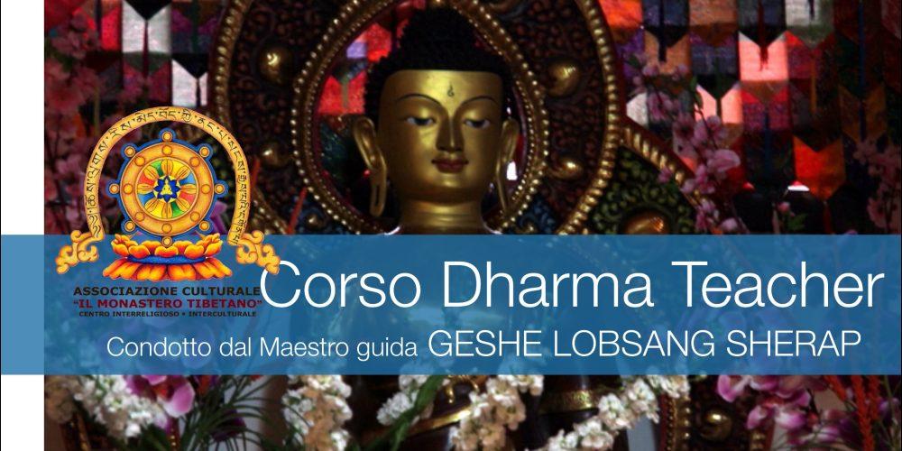 Insegnamento di Dharma condotto dal Maestro Ven. Geshe Lobsang Sherap