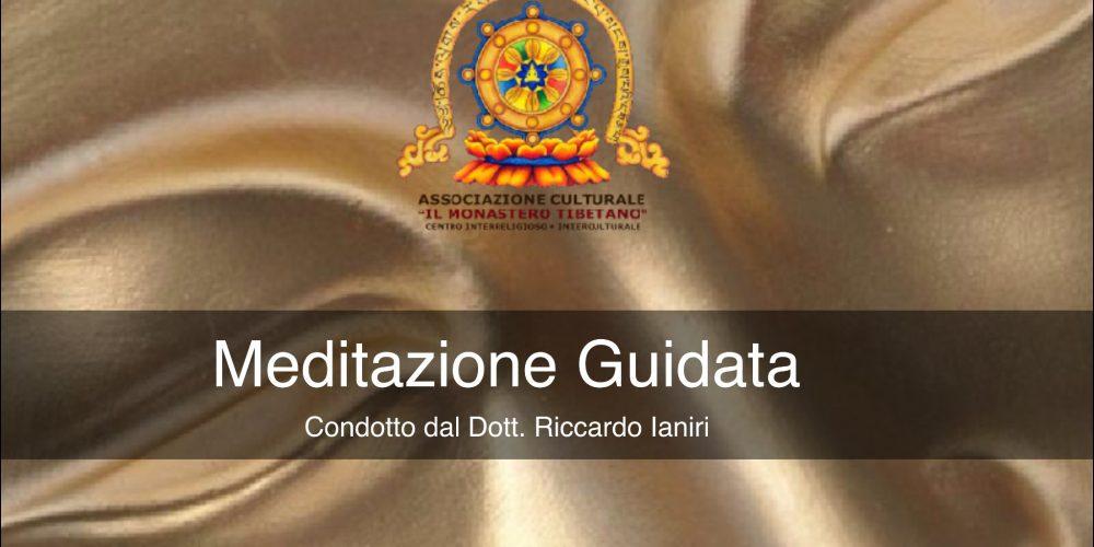 Meditazione Guidata  condotto dal Dott. Dharma Tacher, Riccardo Ianiri