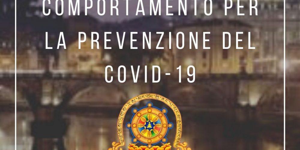 Norme di Comportamento per la Prevenzione del COVID-19