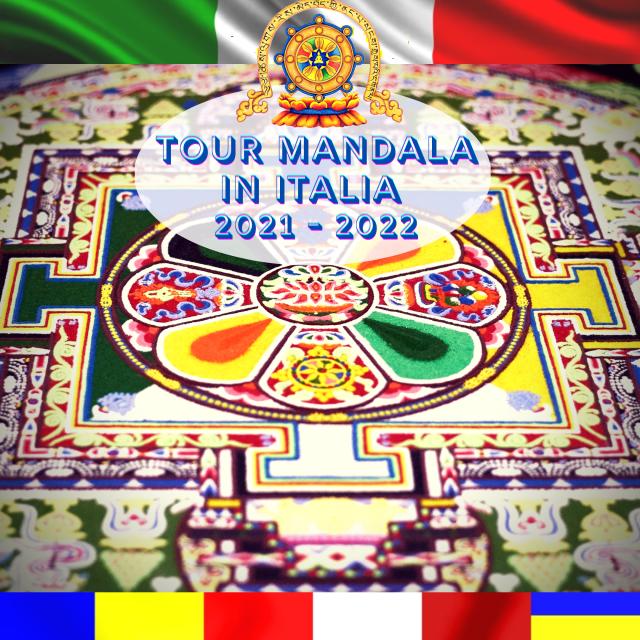 Mandala Tour in Italia 2021 – 2022 Per la PACE