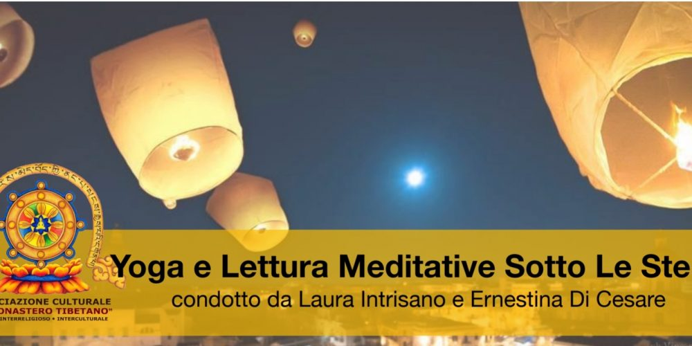 Yoga e letture Meditative Sotto Le Stelle