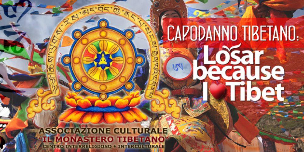 Capodanno Tibetano: Losar ལོ་གསར
