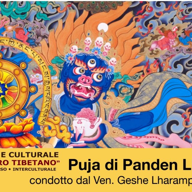 Puja Palden Lhamo condotto dal Maestro Ven. Geshe Lharapa Sonam Dorjee