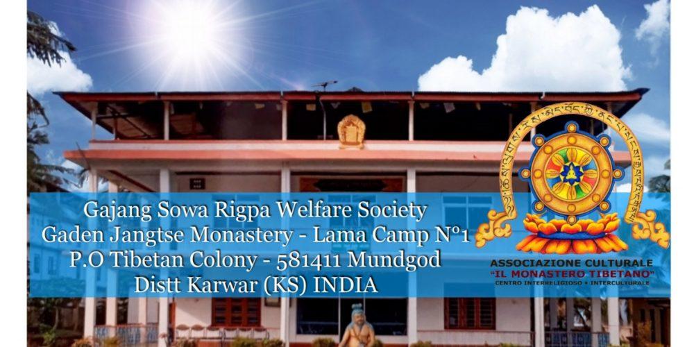 Lotteria per sostenere il Centro di Medicina Tibetana che opera nel Monastero di Gaden (India)