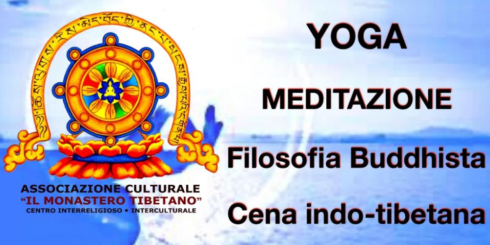 Yoga Meditazione e Dharma con Cena Indo-tibetana