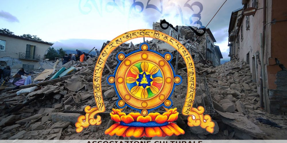 Oṃ Maṇi Padme Hūṃ per le vittime del terremoto che ha colpito Lazio e Marche