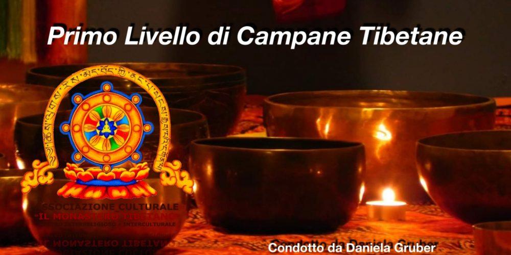 Corso 1° Livello di Campane Tibetane a cura della docente Daniela Gruber