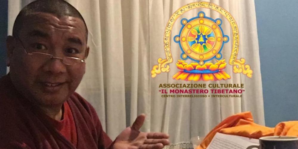 Il Monastero Tibetano Organizza Pranzo Arrivederci al Maestro Ven. Geshe Lharampa Gedun Shakya