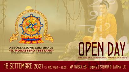 Open Day de Il Monastero Tibetano