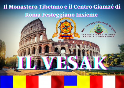 Vesak de Il Monastero Tibetano e Il Centro Giamzé di Roma