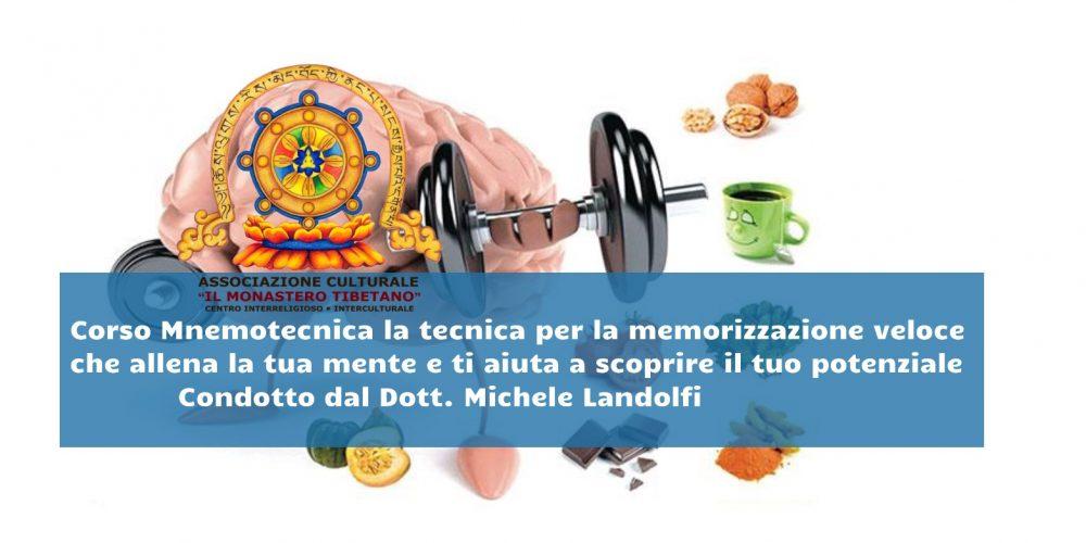 """""""CORSO MNEMOTECNICA, LA TECNICA PER LA MEMORIZZAZIONE VELOCE"""" – Condotto dal Dott. Michele Landolfi"""