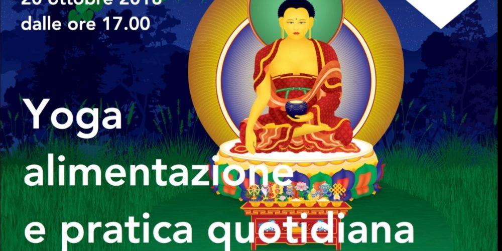 Yoga Alimentazione e Pratica Quotidiana Condotto da Francesco Di Marco e Elena Bevilacqua