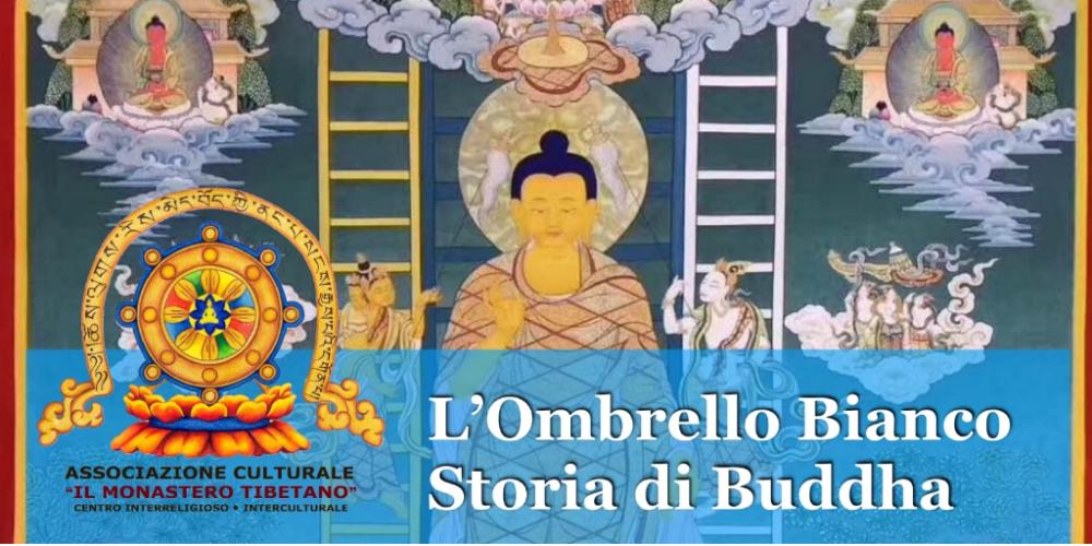 L'Ombrello Bianco Storia di Buddha