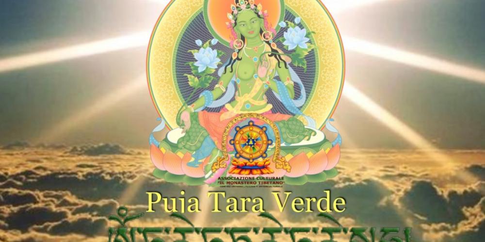 Puja di Tara Verde e Cena Indo-tibetano
