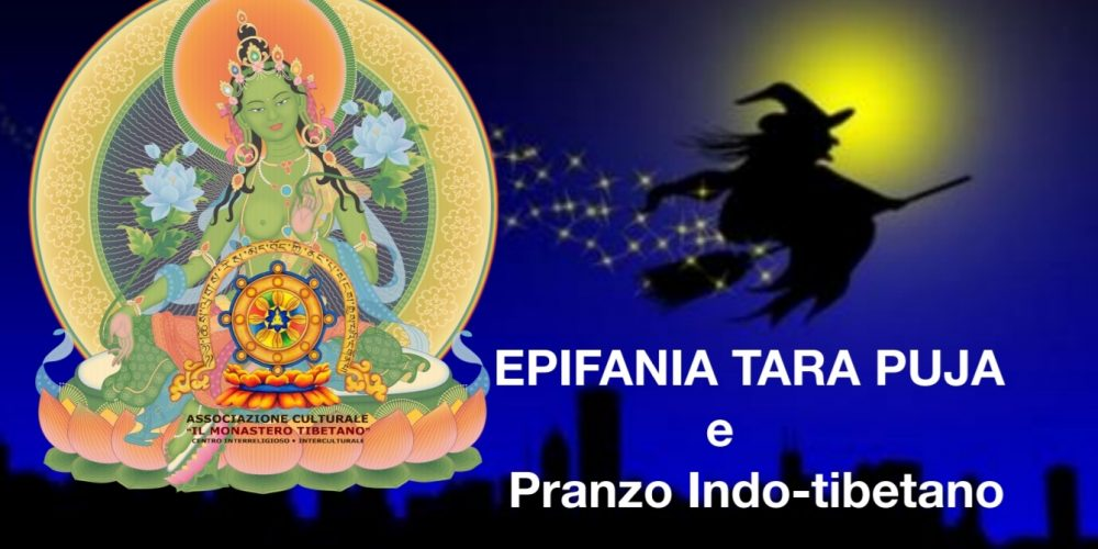 Epifania Tara Puja e Pranzo indo-tibetano