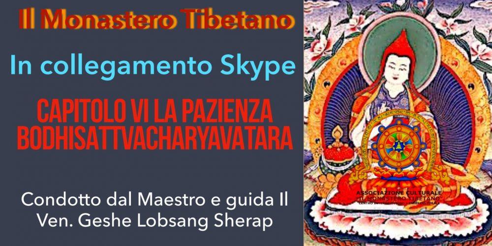 Corso Basic Dharma Teacher: Corso Base di Filosofia Buddhista (principianti e avanzati) in collegamento Skype
