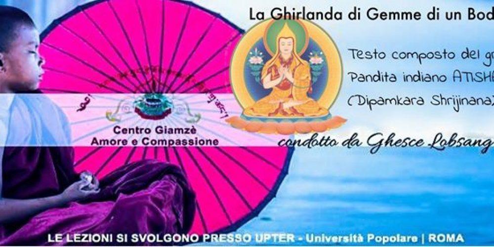 La Ghirlanda Di Gemme Di Un Bodhisattva e Meditazione
